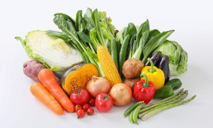 野菜で健康寿命を延ばす