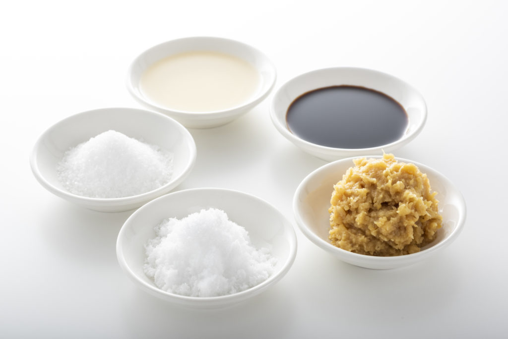 和食の基本調味料