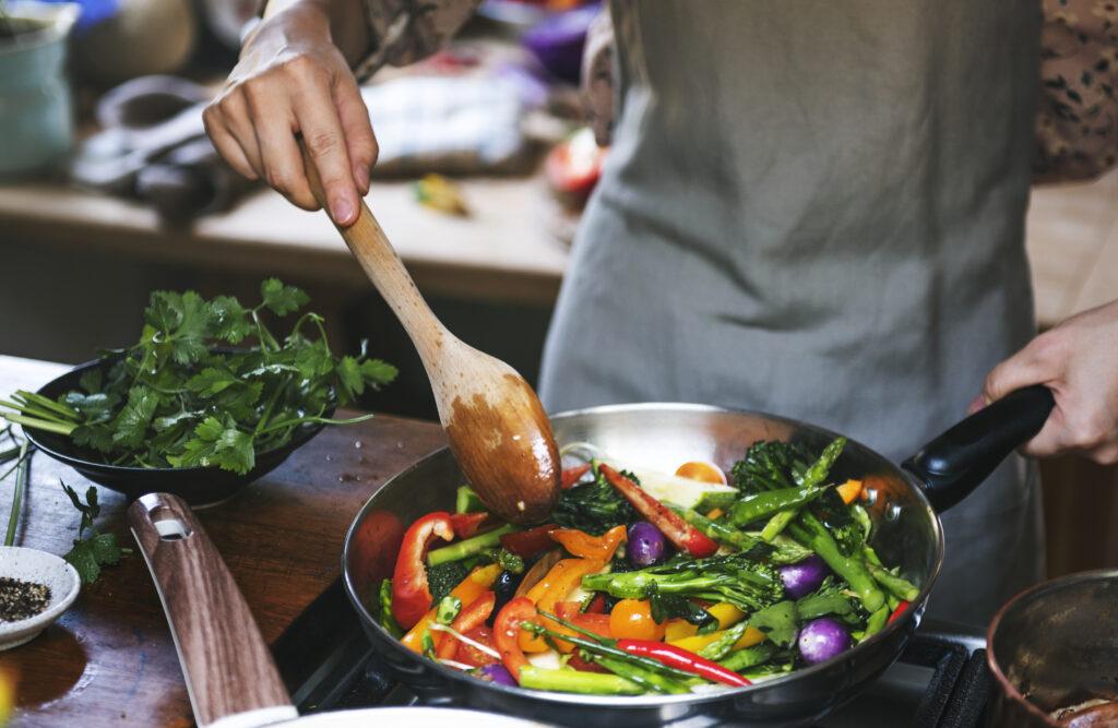 調理の仕方で塩分を抑える